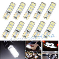 White T10 COB 2835 SMD 12LEDs Car Auto CANBUS Super Bright License Light Bulb