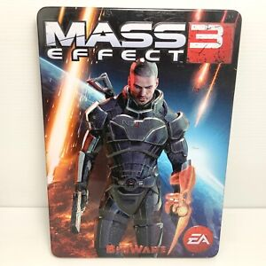 Mass Effect 3 + Steelbook - Xbox 360 - Tested & Working! Free Postage