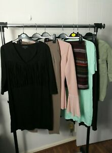 Womens Clothes Bundle Size 10 Midi Dress Pants Jacket Top Shirt Skirt  A4N