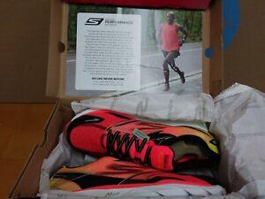 NEW Rare 2014 Skechers Go Run Ride 4 Men's Running Shoes Size 7 Orange Black E6
