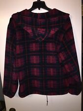 Vintage LL BEAN Chore Barn Jacket/Coat  Polyester Large Full Zip MADE IN USA