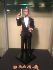 "1/6 scale James Bond 007 Sean Connery Black Tuxedo 12"" Action Figure"