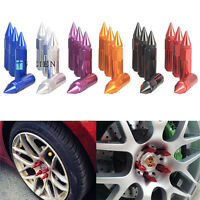 20pcs Gold Aluminium Alloy Extended Wheel Lug Nuts with Spike 30mm ,M12x1.25