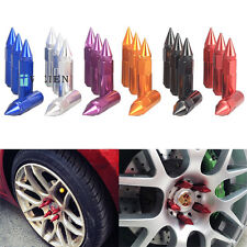 20pcs Aluminium Alloy Extended Wheel Lug Nuts with Spike 30mm ,M12x1.25