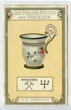 (Ld9344-477) Old English Pottery and Porcelain, SWANSEA # 07, Unused  G-VG