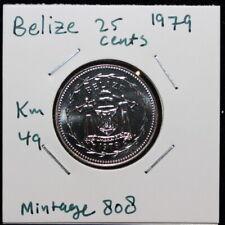 1979 Belize 25 CENTS UNC (3341064/Y25)