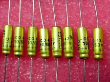 CTS13-100µF 20V 10/% HAUTE QUALITE CONDENSATEUR TANTALE AXIAL BLINDE