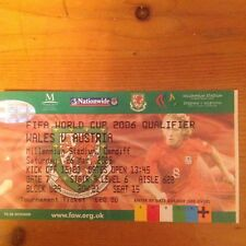 Billete a juego-Gales V Austria Copa del Mundo que cumplen los requisitos en Cardiff 2005