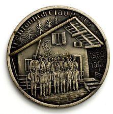 Medaglia 30° Anno Rifugio Ciao Pais Sauze D'Oulx 1950-1980 Nominativa (T.P.)