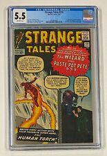 STRANGE TALES #110 Marvel Comics 1963 CGC 5.5 Doctor Dr Strange 1st Appearance
