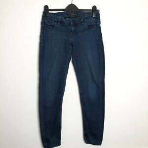 Guess Jeans Navy Denim Beverly Skinny Size 29 Women's Ladies