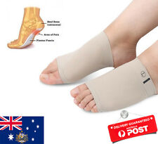 ARCH Support Shoe Gel Insole Flat Feet Pad PAIN RELIEF Plantar Fasciitis Foot