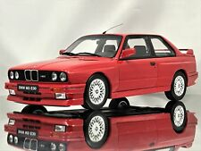 Otto Mobile Ottomobile BMW M3 E30 3 Series Brilliantrot Red Resin Model Car 1:18