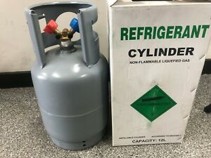 IGLOO REFRIGERANT RECOVERY CYLINDER 12KG POWDER COATED R22 R134A R404A R410A