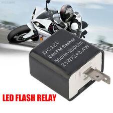 FFDC 2 Pin Motorcycle Indicator LED Flasher LED-Flasher-Relay Turn Signal Speed