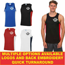 Personalised Embroidered Cool contrast vest Jc008 Highest Quality Workwear Vest