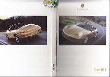 Porsche 911  996 Carrera Prospekt Brochure 09 -1999 - 114 Seiten