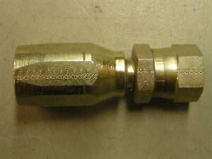Reusable Hydraulic Hose Fittings Female (1/2'')  JIC-8 x 1/2'' hose Pump Oil