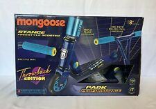 Mongoose Stance Freestyle Scooter Throwback Edition Blue New Open Box