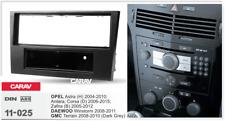CARAV 11-025 Car 2DIN Fascia Panel Frame Trim Install Kit for OPEL DAEWOO GMC