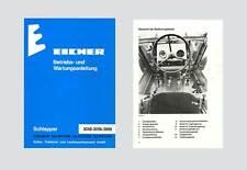 Eicher 3048  3056  3066  Schlepper Betriebsanleitung Original 1983 Lagerexemplar