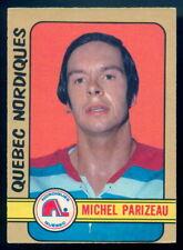 1972-73 OPC O PEE CHEE WHA #335 MICHEL PARIZEAU EX+ QUEBEC NORDIQUE HOCKEY CARD