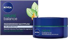 50 ml Nivea Natural Balance Regenerierende Nachtpflege