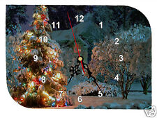 horloge pendule murale  à personnaliser photo prénom texte au choix REF F01