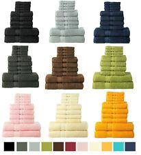 10 Piece Bale Set 100% Cotton Guest Bathroom, Closet: 4 Hand 4 Face 2 Bath Towel