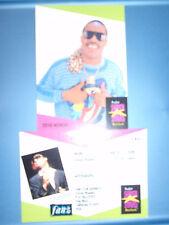 Stevie Wonder ProSet Super Stars MusiCards UK: #149
