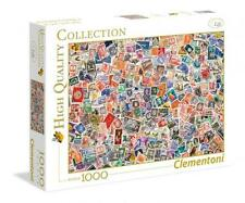 Clementoni High Quality Collection Jigsaw Puzzle Stamps 1000 Pcs #39387