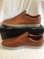 Lakai Men's Echelon Owen Golden Brown Leather Slip On Shoes UK Size 11 BNIB