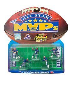 New England Patriots 1997 Galoob All-Star MVPs Action Figures Bledsoe Martin VTG