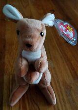 Ty Beanie Baby Pouch Kangaroo Rare 4th Generation