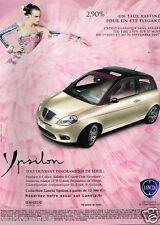 Publicité advertising 2007 lancia Ypsilon