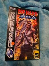 Die Hard Arcade | Sega Saturn Spiel | mit OVP und Anleitung PAL