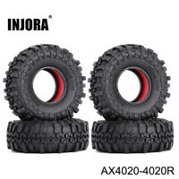 1.9 Tire & Dual Stage TPE Foam for 1/10 RC Axial SCX10 & SCX10 II 90046 CC01 D90