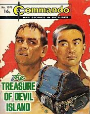 Commando For Action & Adventure Comic Book Magazine #1570 TREASURE OF DEVIL ISLA