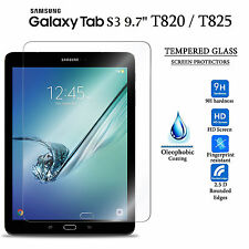 "Tempered Glass Screen Protector For Samsung Galaxy Tab S3 9.7"" inch T820 T825"