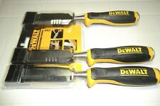DEWALT 3 PCE SIDE STRIKE WOOD CHISEL SET DWHTO-16148 NEW