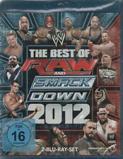 WWE THE BEST OF RAW AND SMACKDOWN 2012 - 2-Disc Set - Blu-Ray *NEW & SEALED*