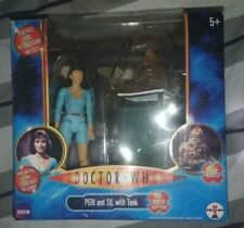 More details for doctor who peri and sil with tank collector set new sealed 5