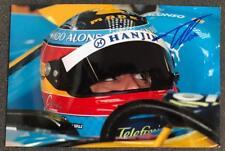 Fernando Alonso Signed Photograph