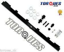 Torques Top Feed Fuel Rail Kit Fits Nissan Skyline RB25 R32 R33 R34 Billet Black
