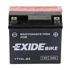 BATTERIE EXIDE YTX5L-BS 12 V/4 A Scooter moto Quad 50 100 125