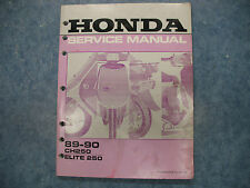 scooter parts & accessories for honda elite 250 ebay Honda Elite Fuse Location honda elite 250 wiring diagram