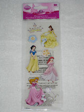 Disney's 8 pc 3D sticker collection - PRINCESS
