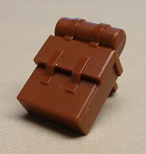 x1 NEW Lego Backpack Brown Minifig Body Wear For Army Guys REDDISH BROWN