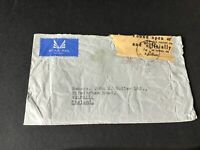 Walsall 1959 found open or damaged stamps cover Ref R28794
