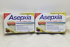 ASEPXIA Farma Exfoliante { 100g x 2 bars of acne fighting soap NEW FORMULA }